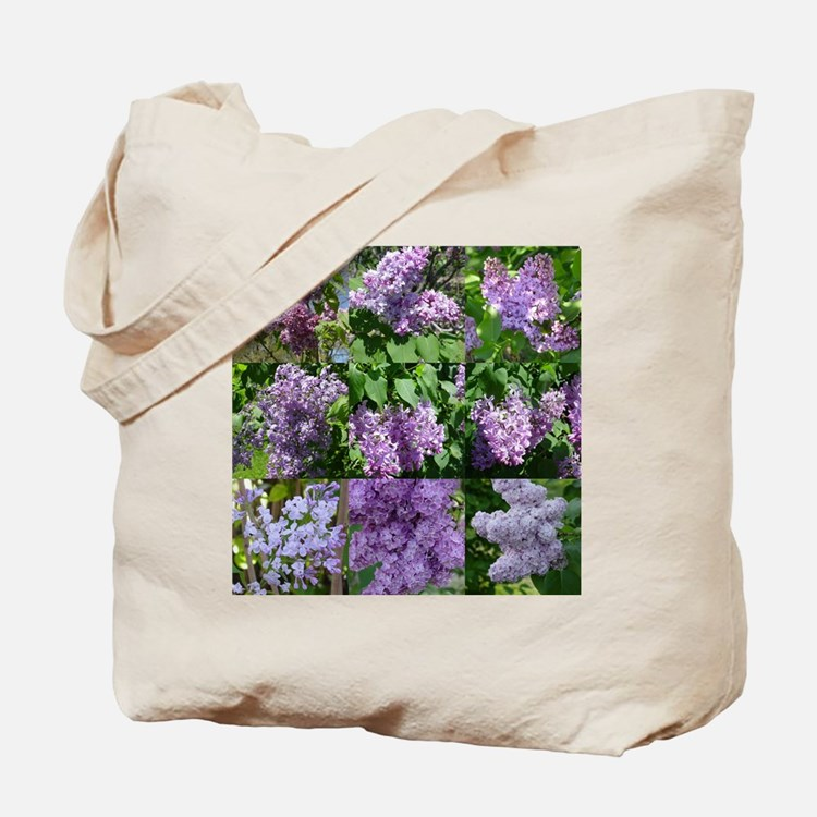 Lilac Collage #16 Tote Bag