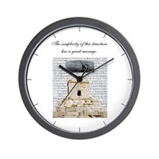 Cyrus Cylinder & Tomb Wall Clock