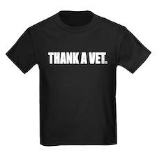 Thank a Vet Drk T-Shirt