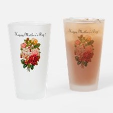"""Mother's Day Roses"" Drinking Glass"