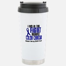 In The Fight Colon Cancer Stainless Steel Travel M