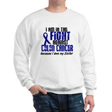 In The Fight Colon Cancer Sweatshirt