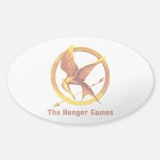 Hunger Games Vintage Sticker (Oval)