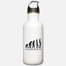 Funny Bicycle evolution Water Bottle