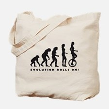 Cute Evolution bike Tote Bag