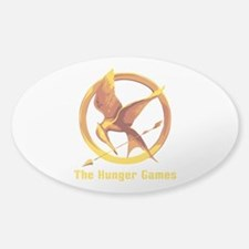 Hunger Games 2 Sticker (Oval)