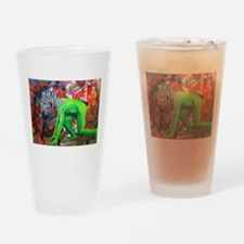 I'm in Love with an Elephant Drinking Glass