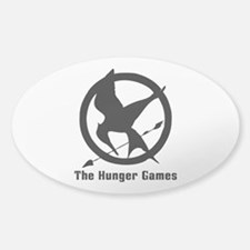 Hunger Games 3 Sticker (Oval)