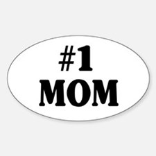 #1 MOM Decal