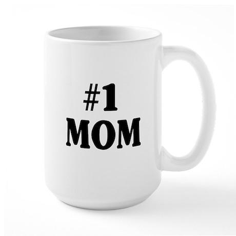 #1 MOM Large Mug