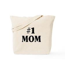 #1 MOM Tote Bag