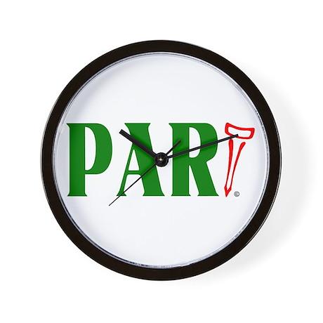 Golf ParTee Wall Clock