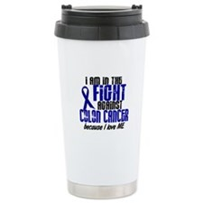 In The Fight Colon Cancer Travel Mug