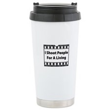 I Shoot People Thermos Mug