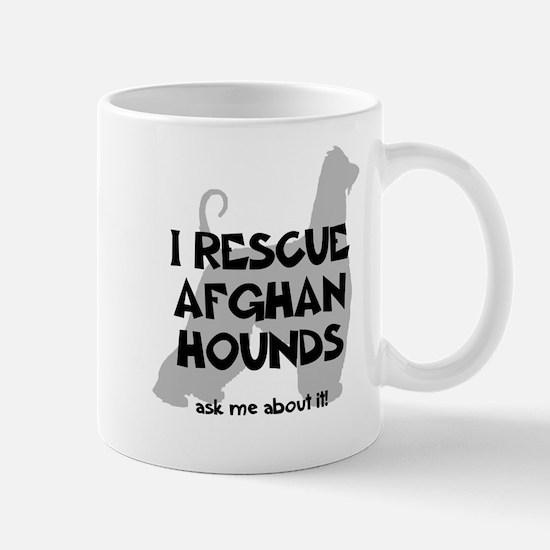 I RESCUE Afghan Hounds Mug