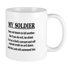 My Soldier does not Mug