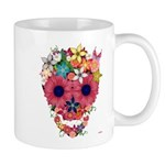 Skull Flowers by WAM Mug