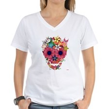 Skull Flowers by WAM Shirt