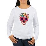 Skull Flowers by WAM Women's Long Sleeve T-Shirt