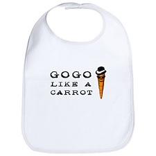 Gogo like a Carrot Bib