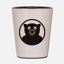 Cute Grizzly bear Shot Glass