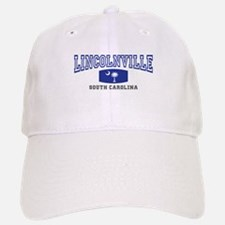 Lincolnville South Carolina, SC, Palmetto Flag Baseball Baseball Cap