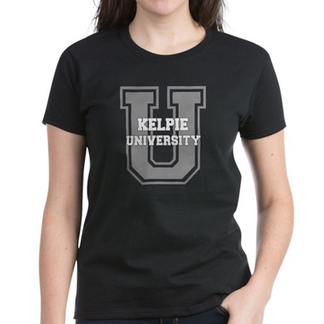 Kelpie UNIVERSITY Women's Dark T-Shirt