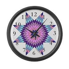 Star of Bethlehem Large Wall Clock