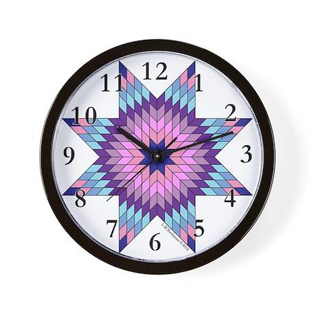 Star of Bethlehem Wall Clock