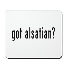 GOT ALSATIAN Mousepad
