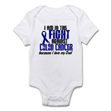 In The Fight Colon Cancer Infant Bodysuit