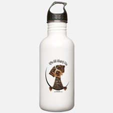 WH Pointing Griffon IAAM Water Bottle