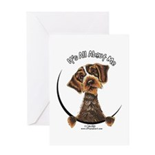 WH Pointing Griffon IAAM Greeting Card