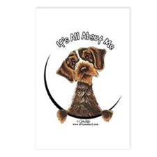 WH Pointing Griffon IAAM Postcards (Package of 8)