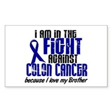 In The Fight Colon Cancer Decal