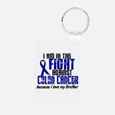 In The Fight Colon Cancer Keychains