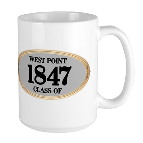 West Point Class of 1847 Large Mug