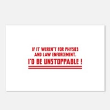 I'd Be Unstoppable Postcards (Package of 8)