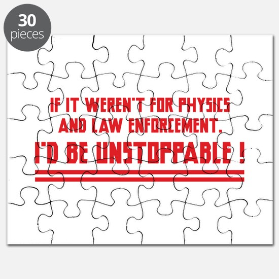 I'd Be Unstoppable Puzzle