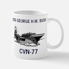 USS BUSH Mug