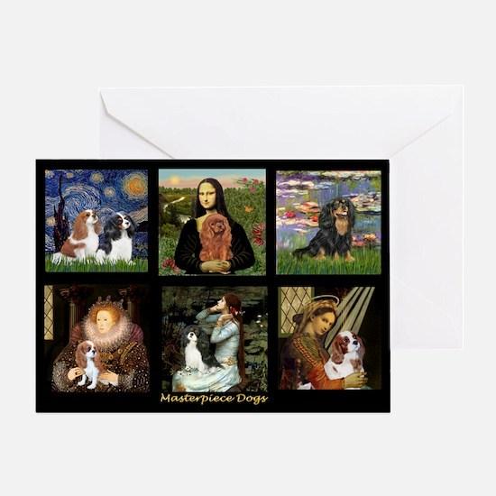 Cavalier Famous Art Comp1 Greeting Card