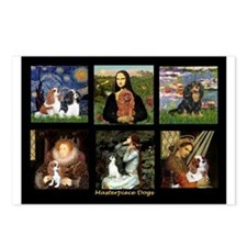 Cavalier Famous Art Comp1 Postcards (Package of 8)