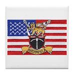 U.S.A. Rhodesia Flag Tile Coaster