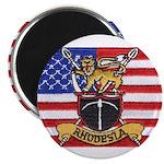 U.S.A. Rhodesia Flag Magnet