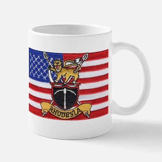U.S.A. Rhodesia Flag Mug