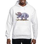Triceratops Dinosaur Hooded Sweatshirt
