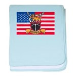 U.S.A. Rhodesia Flag baby blanket