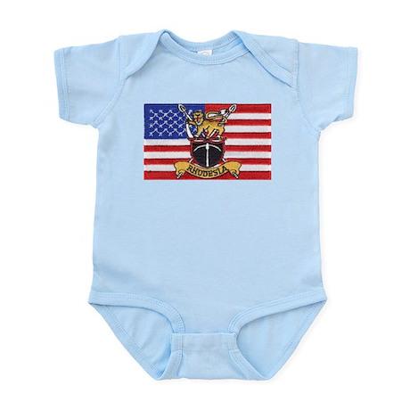 U.S.A. Rhodesia Flag Infant Bodysuit