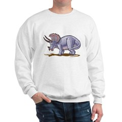 Triceratops Dinosaur Sweatshirt