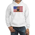 U.S.A. Rhodesia Flag Hooded Sweatshirt